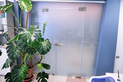 Стеклянные двери 4