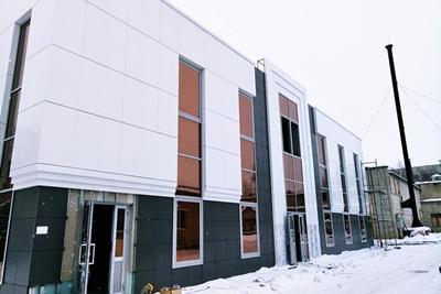 Стеклянные фасады 1