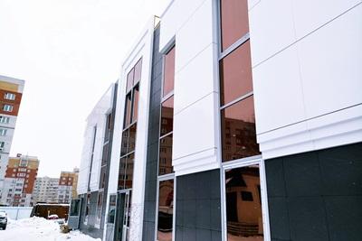 Стеклянные фасады 2