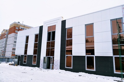Стеклянные фасады 3