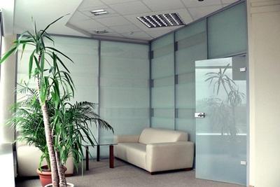 Стеклянные перегородки офис